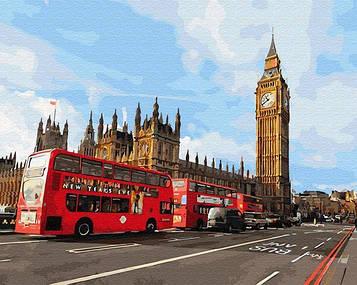 Картины по номерам 40х50 см Brushme Магия Лондона (GX 30085)