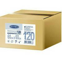 Пеленки гигиенические компактные Белоснежка 60х60 Бокс (120 шт)