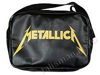 Рок-сумка (ТК) - METALLICA-5 (лого)