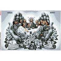 """Схема для вишивки """"Тайна вечеря в долонях(срібло)"""" БА-А3021"""