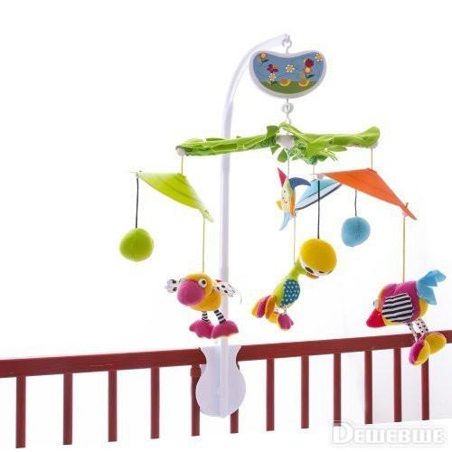 Музыкальный мобиль Biba Toys Райские птички (030GD)