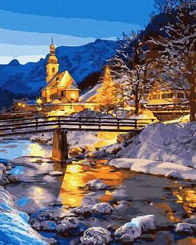 Картины по номерам 40х50 см Brushme Зимняя сказка (GX 30889)