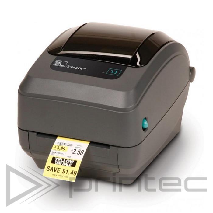 Термотрансферний принтер етикеток Zebra GK420t USB