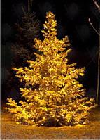 Уличная светодиодная гирлянда на 100 ламп 10 метров Желтая, синяя, мульти