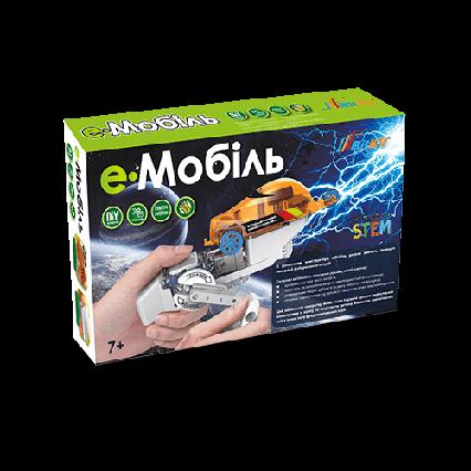 ЕМобиль - конструктор с динамомашиной, Конструктор BitKit, робототехника, научные опыты