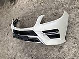 Бампер передній AMG Mercedes ML W166 бампер передній АМГ Мерседес МЛ 166, фото 3