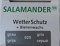 """Крем с губкой серый """"Wetter-Schutz"""" для гладкой кожи Саламандра, фото 1"""