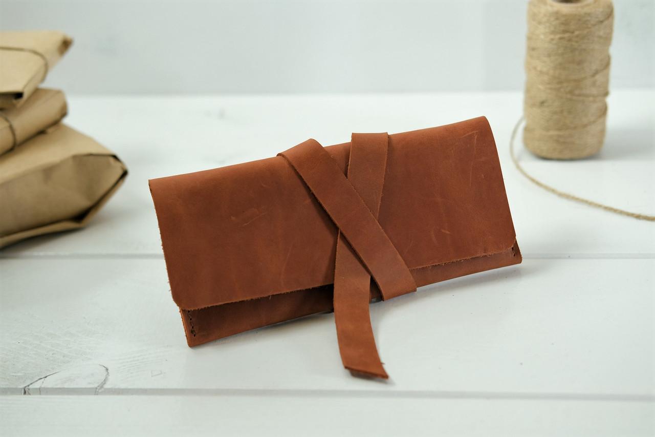 Шкіряні гаманці ручної роботи