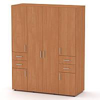 Шкаф-20 ольха Компанит (160х62х203 см)