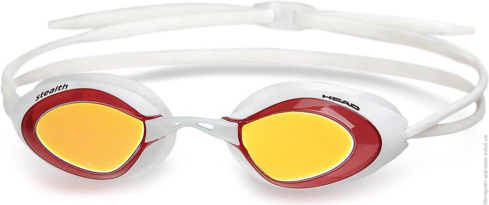 Очки для плавания HEAD Stealth LSR зеркальное покрытие