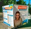 Рекламный куб, агитационный