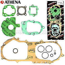 Комплект прокладок двигателя ATHENA Minarelli Horizontal CY (Yamaha 3KJ)