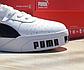 Чоловічі весняні кросівки Puma cali (Білі з чорним) O10211 спортивні стильні кеди для хлопців, фото 10
