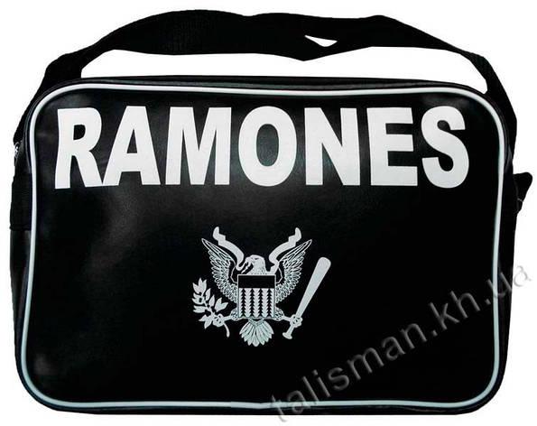 Рок-сумка (ТК) - RAMONES, фото 2