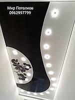 Глянцевые натяжные потолки