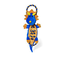 Іграшка для собак Петстейджес Дракон велика Dragon Ropes-A-Go-Go