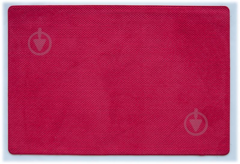 Килимок для ванної кімнати Dariana Ананас 68х120 червоний