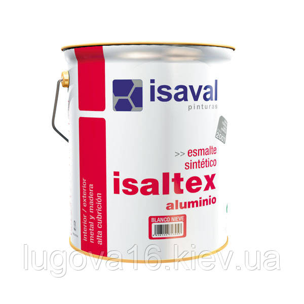 Изалтекс алюминевый (0.75 л) Синтетическая эмаль для защитной и декоративной отделки