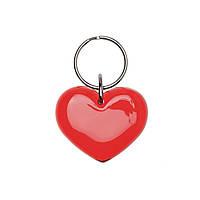 Брелок сердце пластиковый