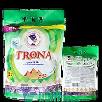 Порошок пральний безфосфатний 1,5 кг Універсальний Trona ТМ Полімер