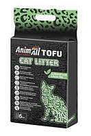 Animal соевый наполнитель зелёный чай 6 литров-2,6 кг