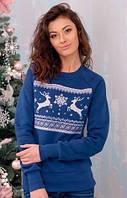 Женский рождественский свитер