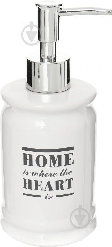 Дозатор для жидкого мыла Trento Home Heart 46400
