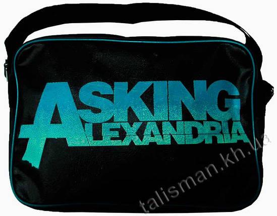Рок-сумка - ASKING ALEXANDRIA, фото 2