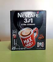 Кавовий напій Nescafe XTRA Strong 3 в 1 20 стіків