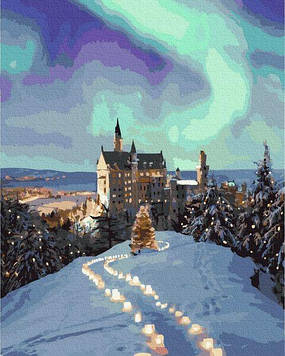 Картины по номерам 40х50 см Brushme Сказочный замок (GX 31179)