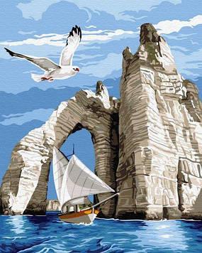 Картины по номерам 40х50 см Brushme Прогулка у скал (GX 31197)