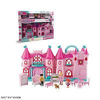 Замок A-toys, свет, звук, куколки, мебель, аксессуары, (16830A)