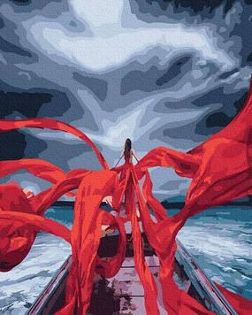 Картины по номерам 40х50 см Brushme Красные нити любви (GX 31997)