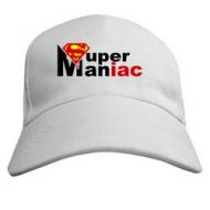 Мужская кепка бейсболка с  Supermaniac логотип Супермен