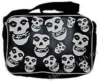 Рок-сумка - MISFITS -2 (много черепов)