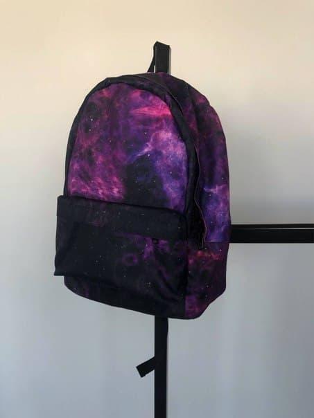 Коттоновый рюкзак з одним основним відділом (8 моделей)