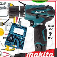Шуруповерт аккумуляторный МАКИТА MAKITA DF330DWE (12V. 2 AH), шуруповерт Макита Аккумуляторный шуруповерты