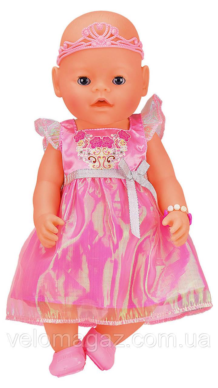 Лялька-пупс 8020-449 інтерактивна, репліка, 9 функцій