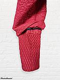 """Жіночий весняний плащ великих розмірів """"Ліза"""" з кружевним візерунком, фото 6"""