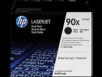 CE390XD картридж оригинальный для HP LJ M4555 и LJ Enterprise 602/ 603 series Black Max DUAL PACK