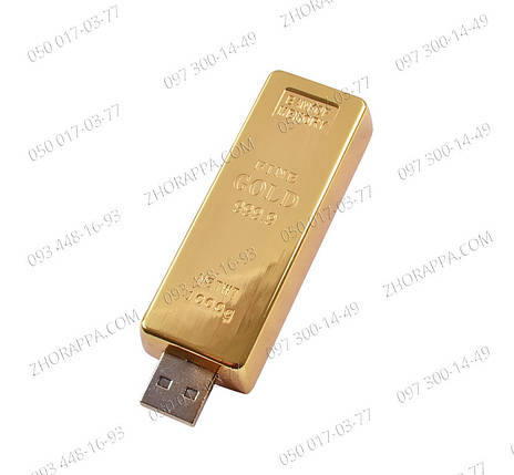 Зажигалка на подарок Usb Слиток золота №4366 Электрические зажигалки Карманная зажигалка , фото 2