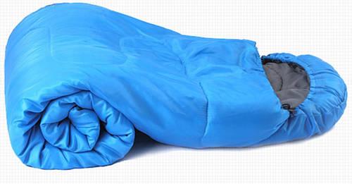 Комфортный спальный мешок KingCamp Oasis 250(KS3121) / 7°C, L Blue  95124 синий
