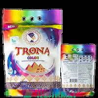 Порошок пральний бесфосфатний «TRONA color» – 1,5 Кг ТМ Полімер