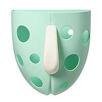 Кружка для игрушек в ванну бирюзовая BabyOno (5901435412237)