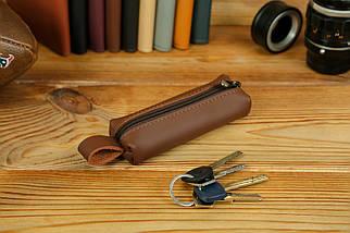 Ключниця на блискавці, Шкіра Grand, колір Віскі, фото 2