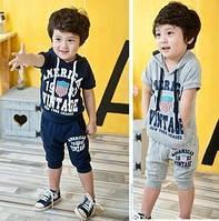 Стильный летний костюм для мальчика на 1 год , фото 1
