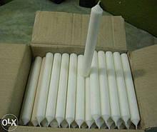 Свічки столові парафінові (мінімум 50шт, часткова або повна передплата)