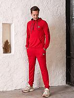Чоловічий спортивний костюм Moncler, червоний, фото 1