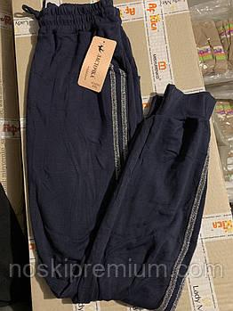 Джоггеры женские хлопок Ласточка, размер 3XL, 4XL, 5XL, чёрные, А5035-2