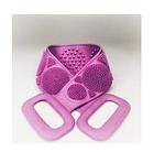 ОПТ Силіконова масажна щітка для душу Silicon bath towel масажний пілінг для тіла і спини, фото 2